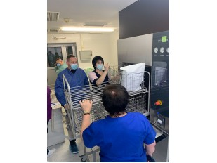 Запущен в работу паровой стерилизатор Azteca A-669 (Celitron) в Киевском центре трансплантации костного мозга.