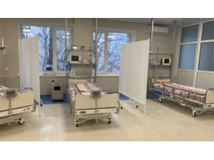 На замовлення «Епіцентр» для Інституту кардіології поставлено реанімаційні ліжка.