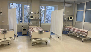 Resuscitation beds were ordered by the Epicenter for the Institute of Cardiology