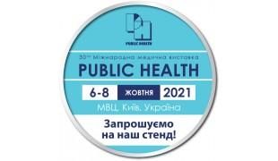 We invite you to the exhibition Public Health 2021, 06-08.10 2021.