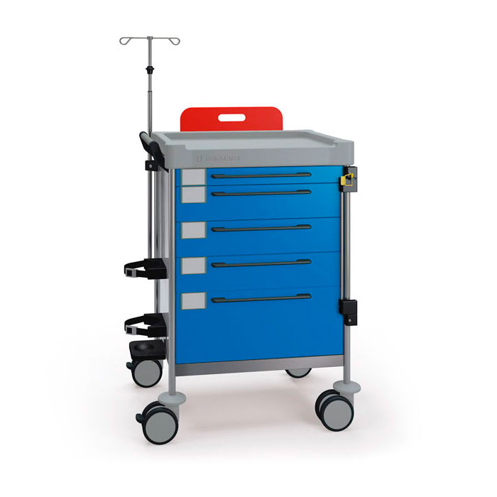 Emergency Simple trolley 1272 B - 100 series Insausti