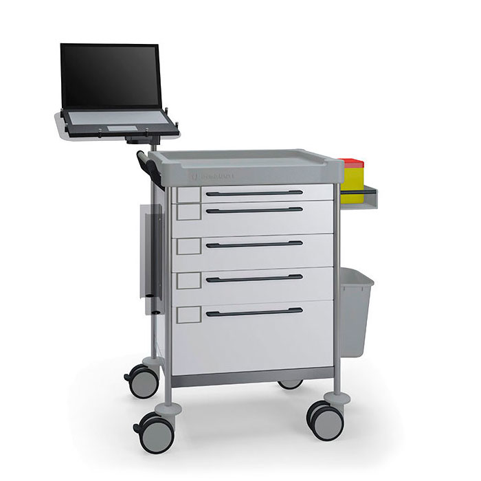 Treatment Simple trolley 1608 W - 100 series Insausti