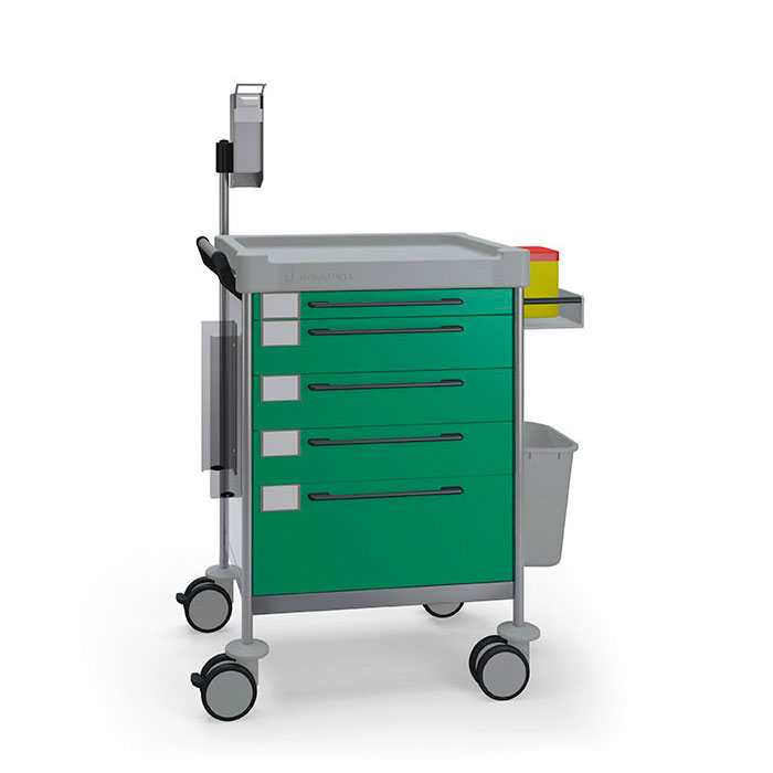 Treatment Simple trolley 1618 G - 100 series Insausti