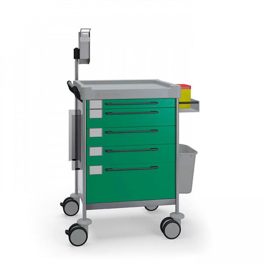 Treatment Simple trolley 1618 G - 100 series Insausti