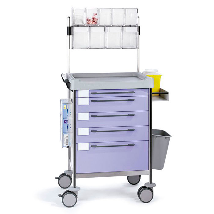 Treatment Simple trolley 1672 F - 100 series  Insausti