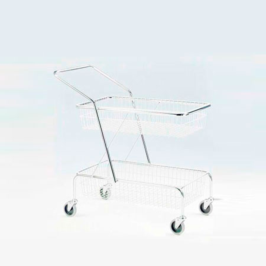 266 Service trolley and 265 Courier trolley Lojer