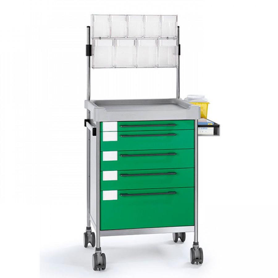 Анестезиологическая простая тележка 3614 G1 серии 300 Insausti