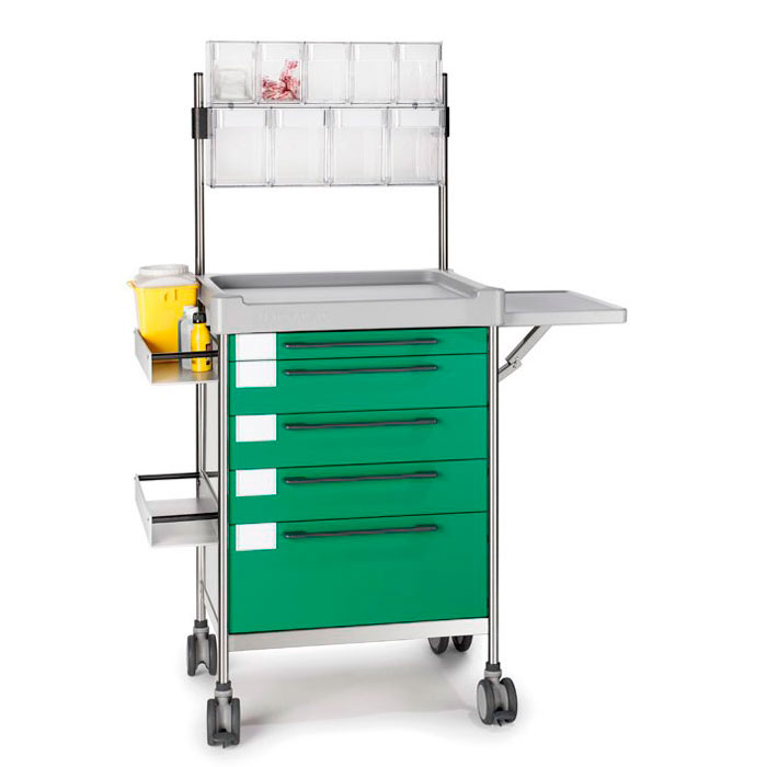 Anaesthesia Simple trolley 3650 G - 300 series Insausti