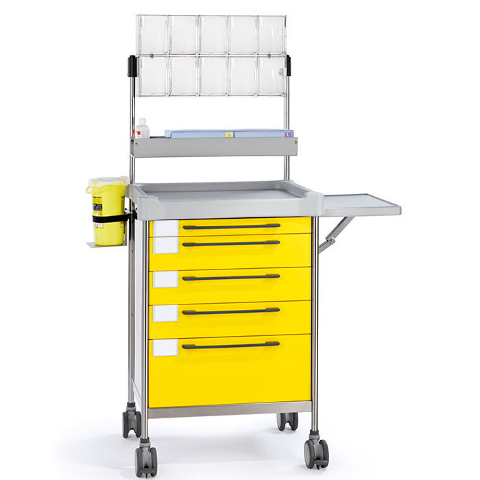 Anaesthesia Simple trolley 3680 Y - 300 series Insausti