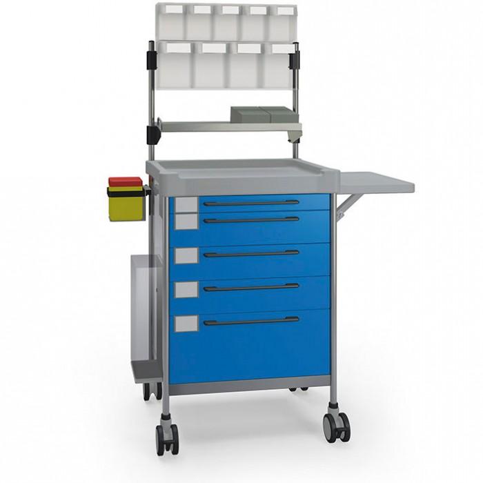 Анестезіологічний простий візок 3687 B серії 300 Insausti