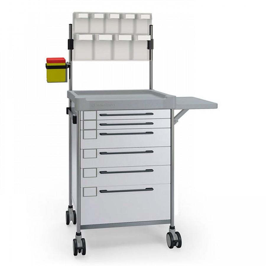 Анестезіологічний простий візок 3692 W серії 300 Insausti