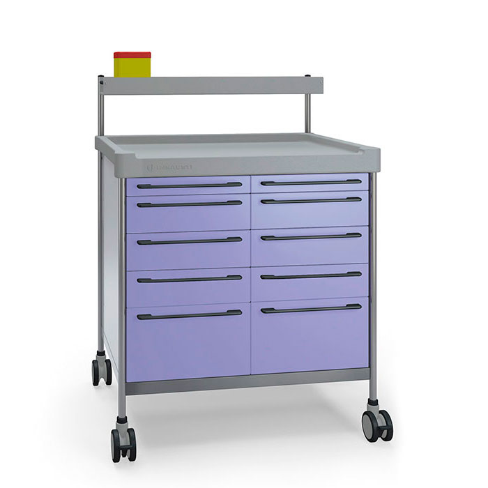 Multifunction Double trolley 3818 F - 300 series Insausti