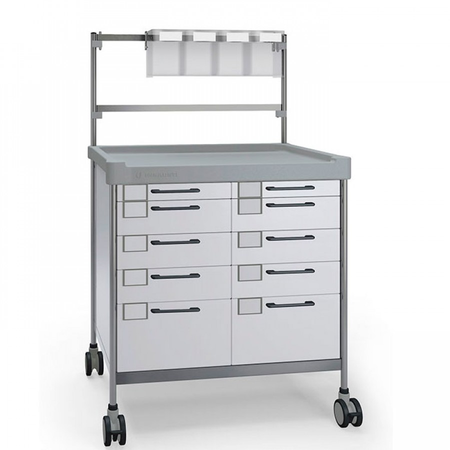 Anaesthesia Double trolley 3922 W - 300 series Insausti
