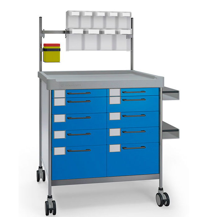 Anaesthesia Double trolley 3934 B - 300 series  Insausti