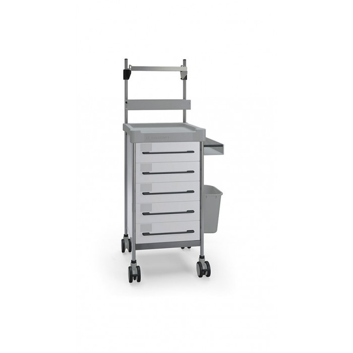 Multifunction Square trolley Q066 W SQ Insausti