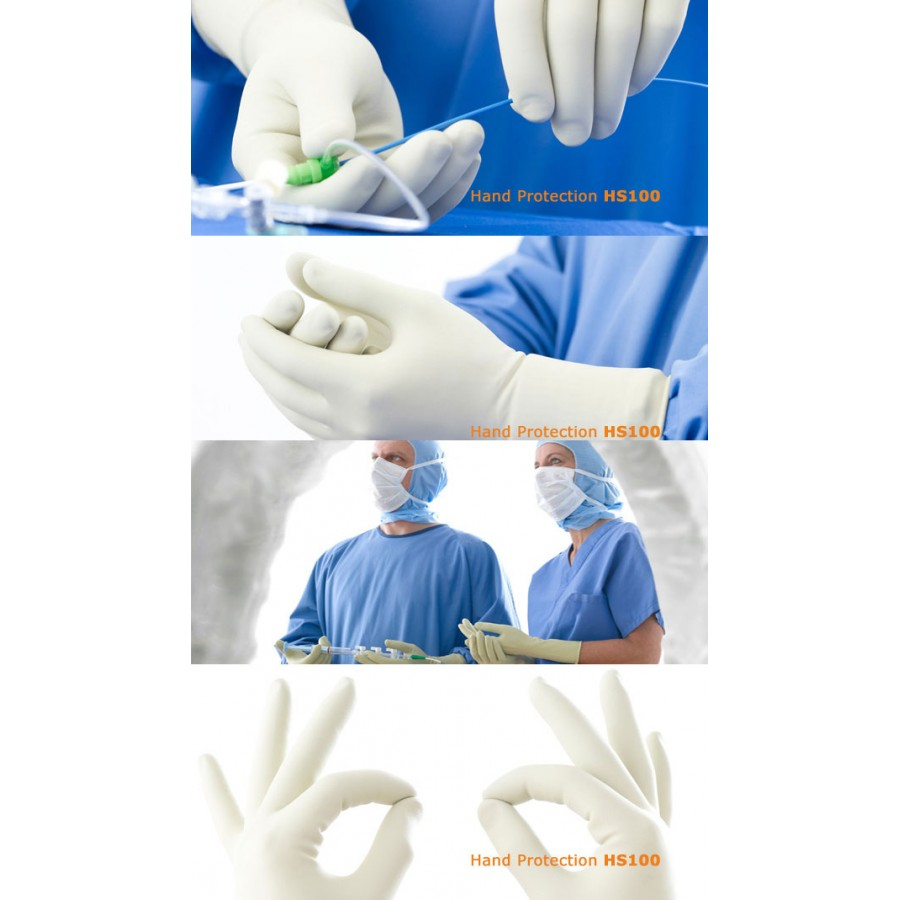 HS100 стерильні рентген захисні рукавички Mavig
