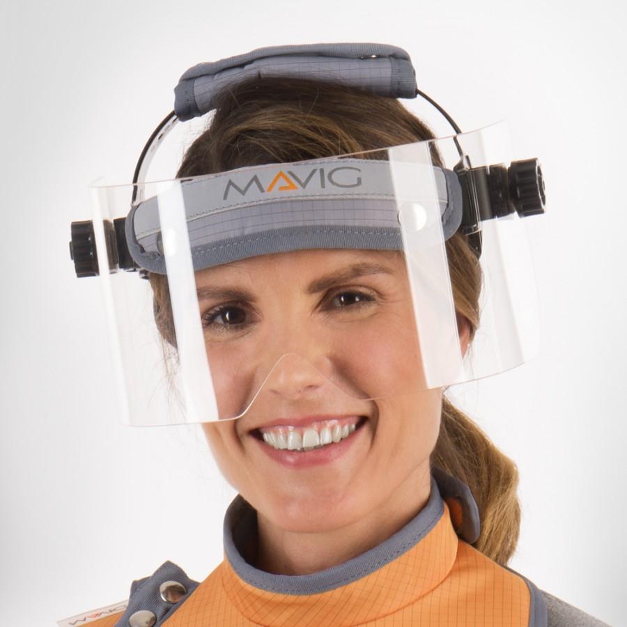 BRV501 рентген захисна маска Mavig