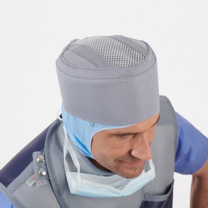 RA611 рентген захисна шапочка з дихаючою вставкою Mavig