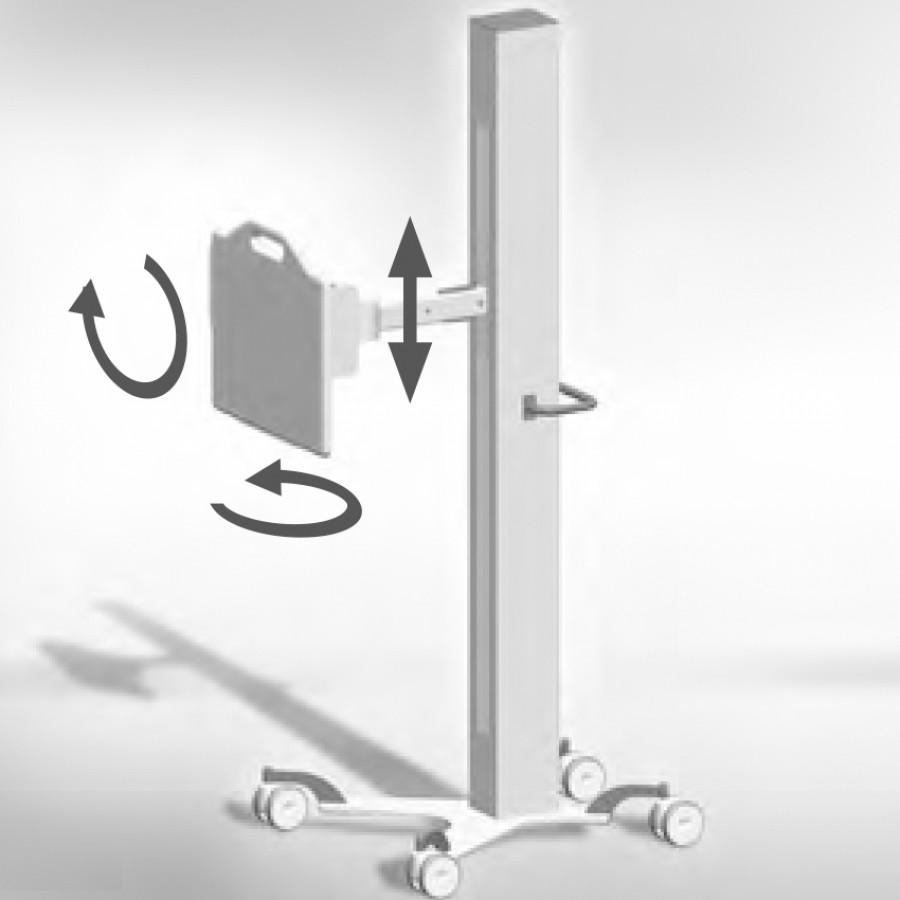Мобільний тримач рентген детекторів MDH130