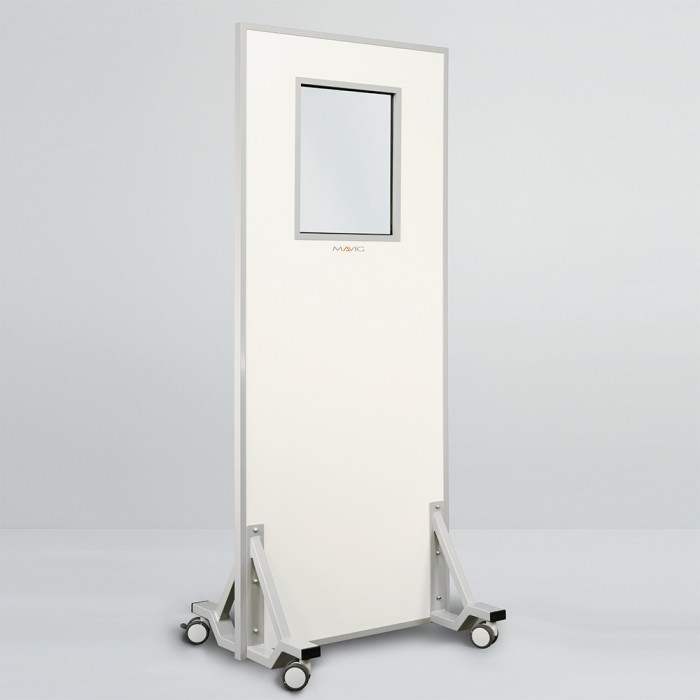 WD204 мобильная рентген защитная ширма Mavig