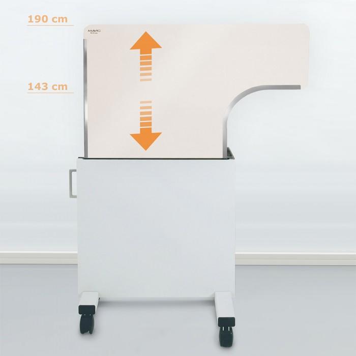 WD302 мобильная рентген защитная ширма Mavig