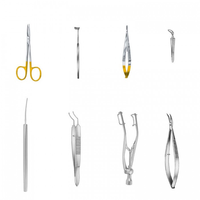 Basic eye surgery set NOPA