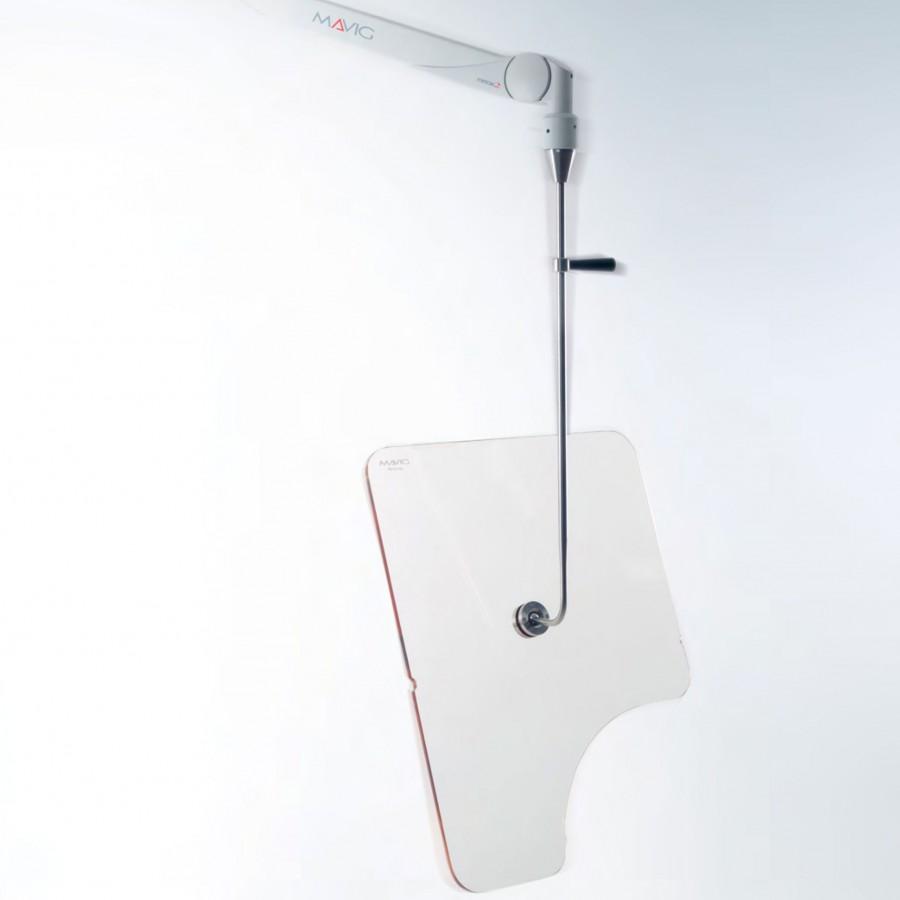 OT50001 прозорий акриловий рентген захисний екран Mavig