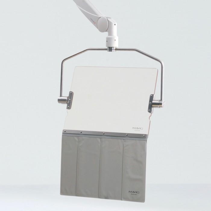 OT80001 прозорий акриловий рентген захисний екран Mavig
