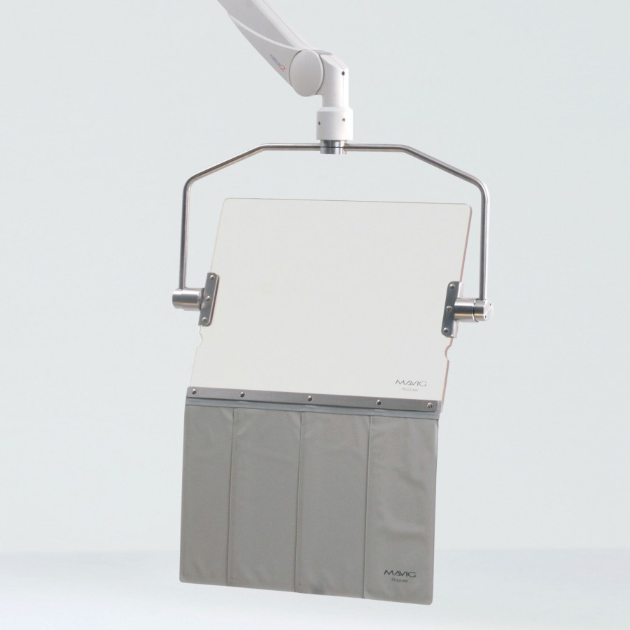 OT80001 прозрачный акриловый рентген защитный экран Mavig