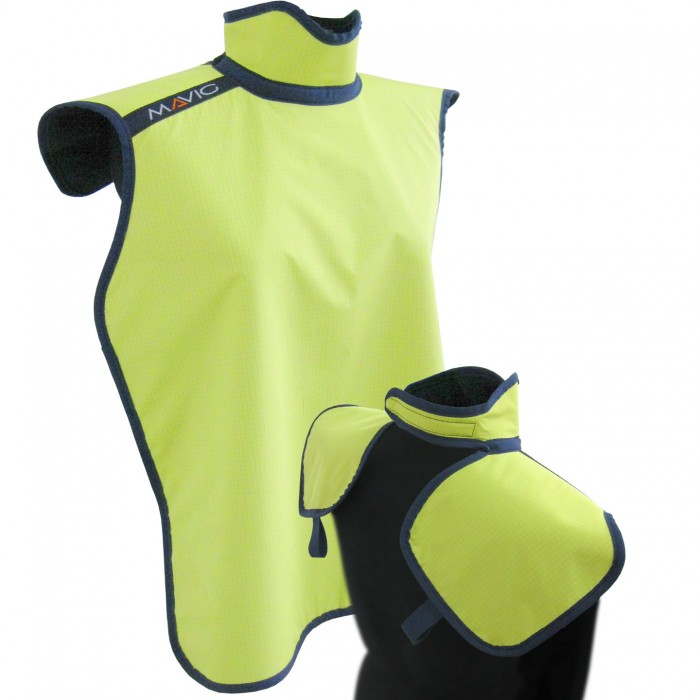RD644 Dental Apron with Collar (Thyroid Protection)  Mavig