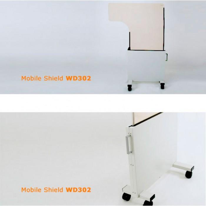WD302 мобільна рентген захисна ширма Mavig