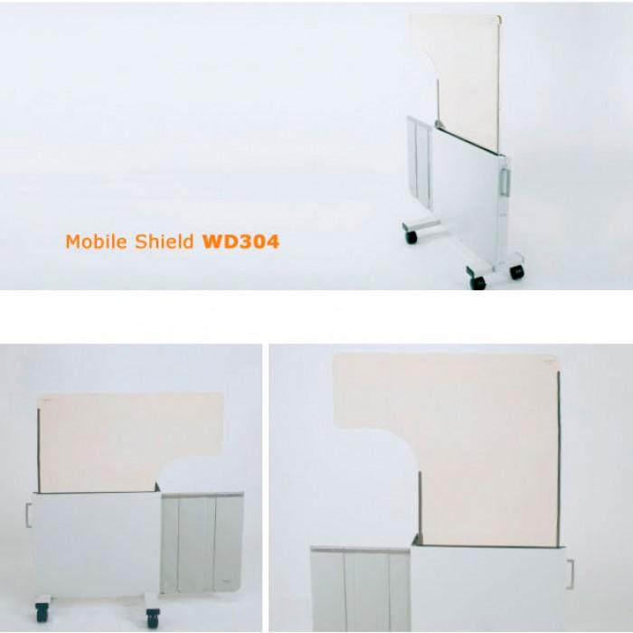 WD304 мобільна рентген захистна ширма Mavig